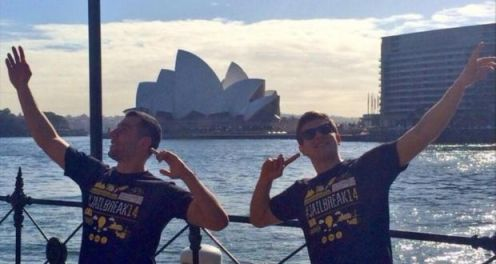 Jailbreak 14 the 2 irish lads who made it from Dublin to Sydney with no money