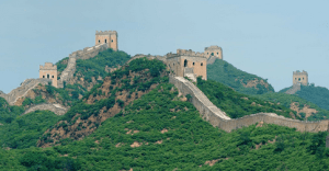 4th Most visited country in the world:  China: 55.7 million visitors