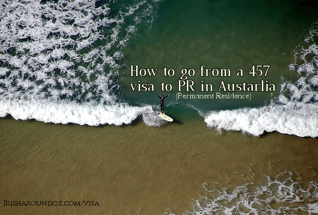 How long does it take to go from a 457 visa to permanent resident