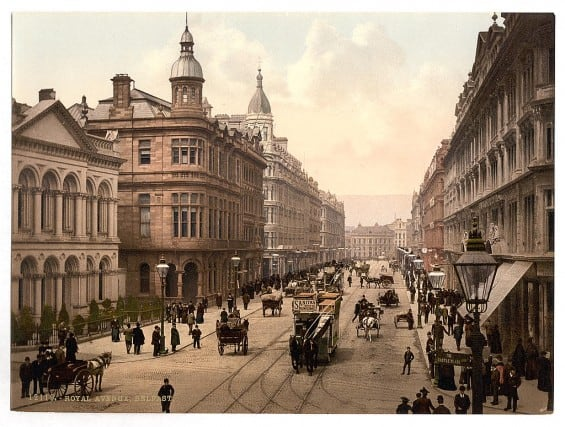 Royal Avenue, Belfast - Pictures of Ireland