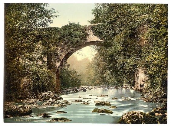 The Dargle Bridge - Pictures of Ireland
