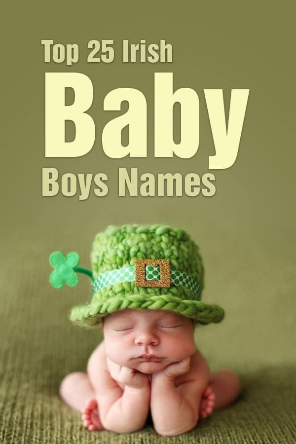Top 25 Irish Baby Boy Names
