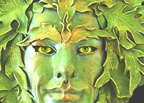 green-man-legend - Celtic Symbols