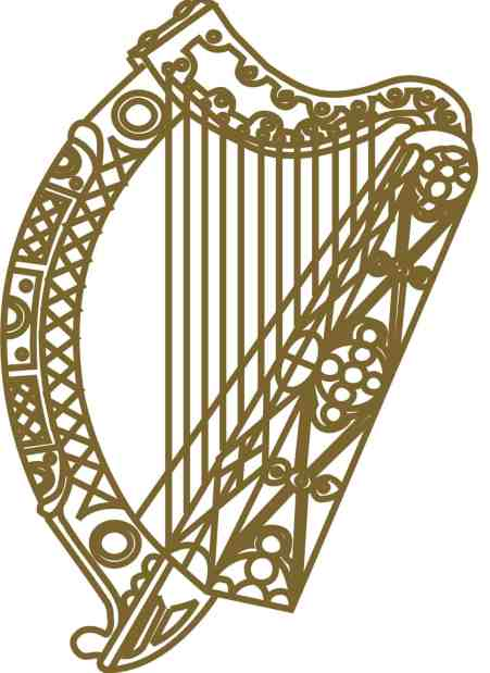 Image of the harp - Celtic symbols