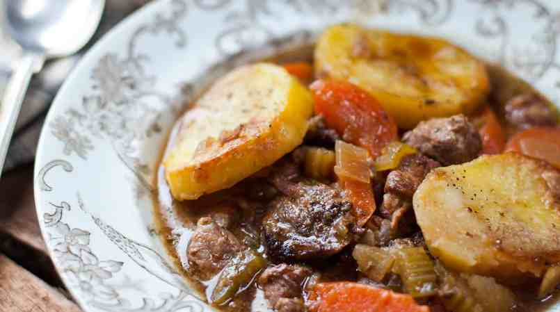 Irish family stew-Irish recipe