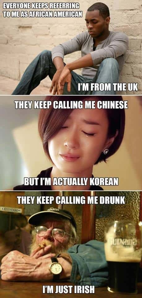 Global Problems Irish Memes