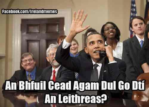 Obama Irish Memes