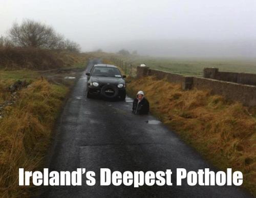 Pothole Irish Memes