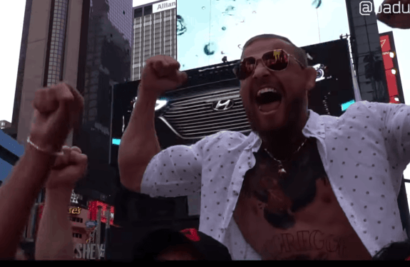 Fake mcgregor in New York