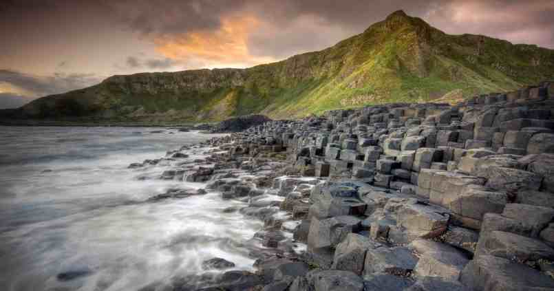 Giant Causeway in Ireland is the most beautiful place to visit in Ireland.