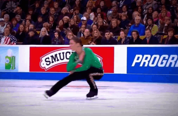 River dance on ice