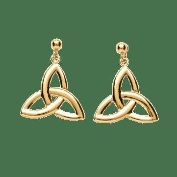 Celtic symbol Trinity knot earrings