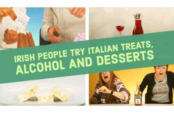 Irish People Try Italian Treats, Alcohol And Desserts