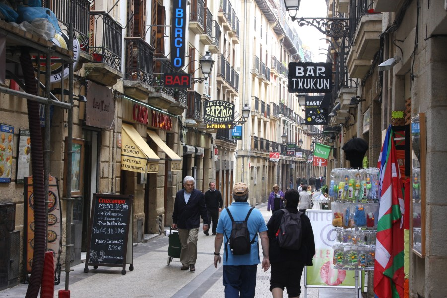 Letter from Donostia: Language 'our only free territory'