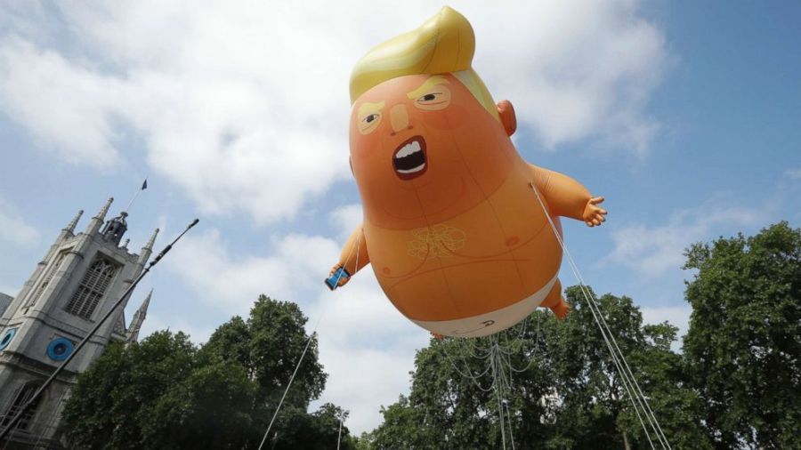 Thousands plan to protest Donald Trump's visit to Ireland