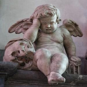L'ange pleureur de la Cathédrale d'Amiens