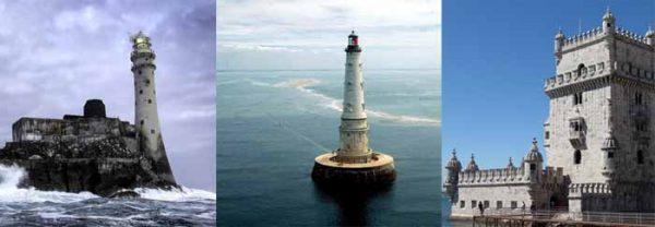 Irlande - France - Portugal : Trois phares de l'Arc Atlantique
