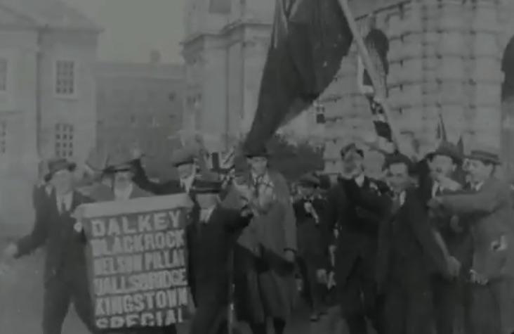 Á l'Armistice,  le pire commence pour les soldats Irlandais...