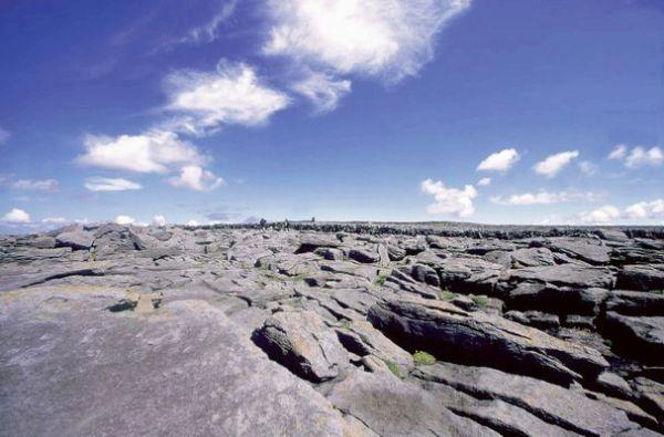 Du granit à perte de vue sur l'Ile d'Inishmore