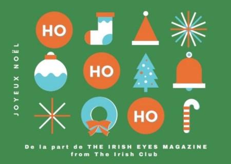 happy Christmas - Irish Christmas - Nollaig Shona - Joyeux Noel