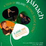 Compánach poster for Tour of Traditional music of Ireland