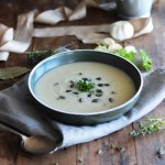 Cauliflower and cannellini bean soup