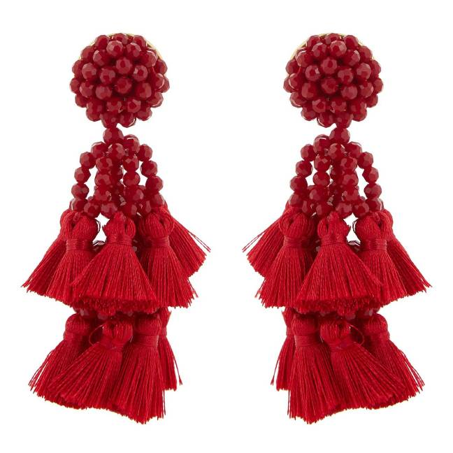 Amaranthus_Earrings