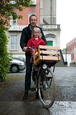 Pieter Oonk and daughter Julianna
