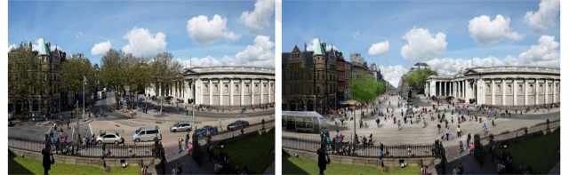 College Green vs current