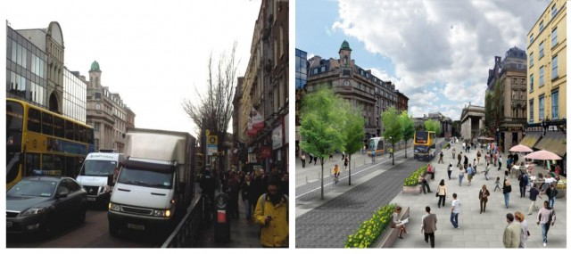 Westmoreland Street vs current