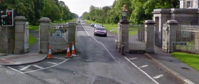 Phoenix Park gate
