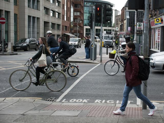 cyclists dublin