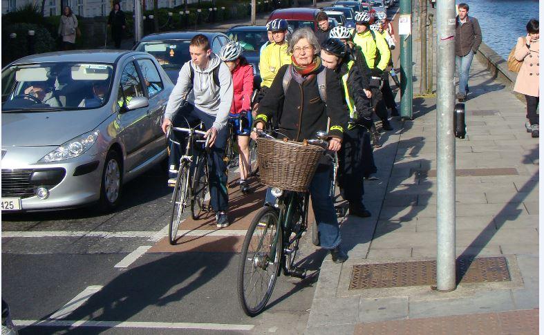 Dublin cycling