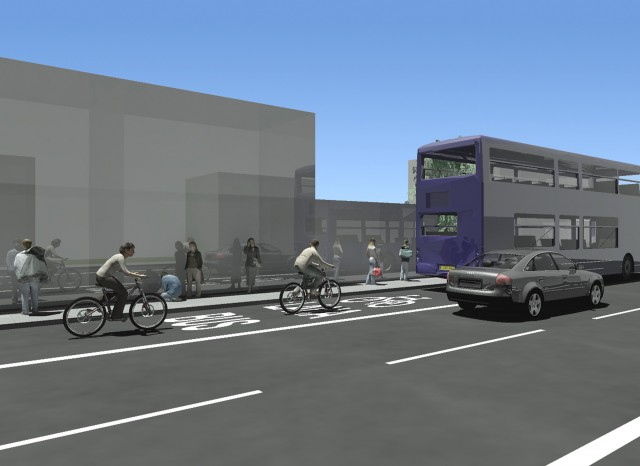 4.3.3.1_Combined-Bus-Lane_3D