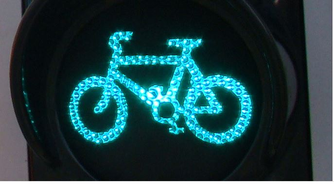 bicycle green light