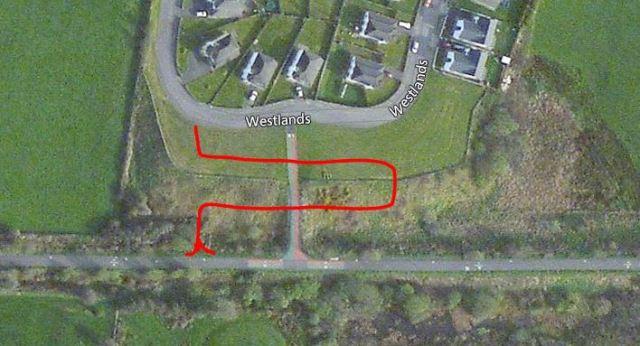 Westlands ramp to greenway