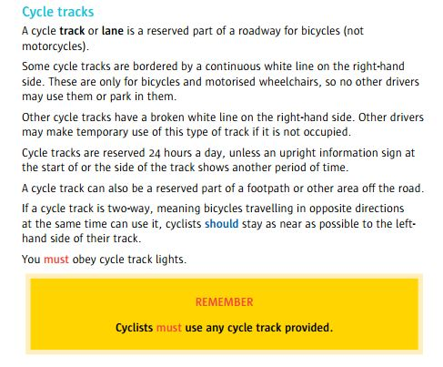 Cycle Track 2016