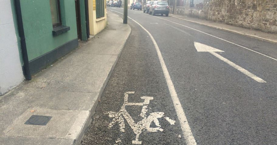 Cycle lane in Kerry