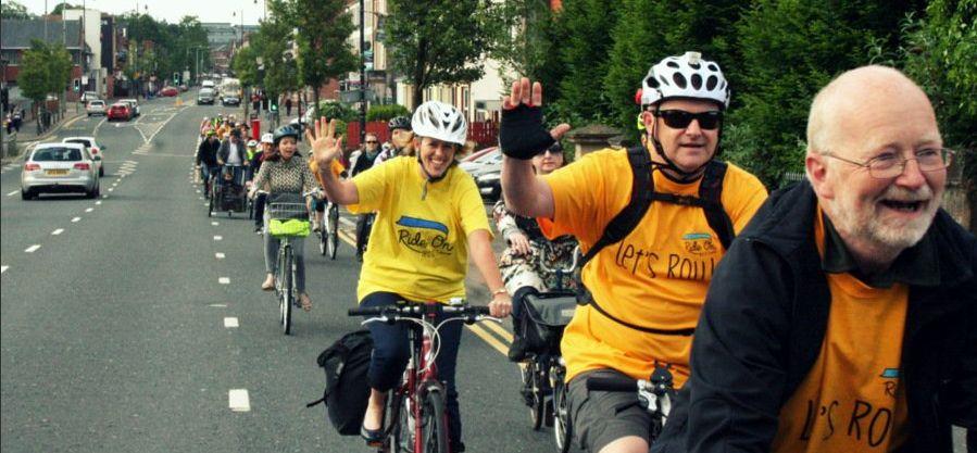 Belfast cycling