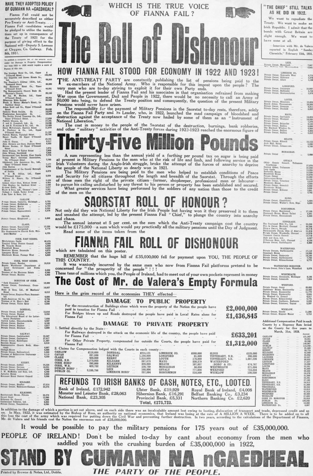 1932 general election | Irish Election Literature | Page 2