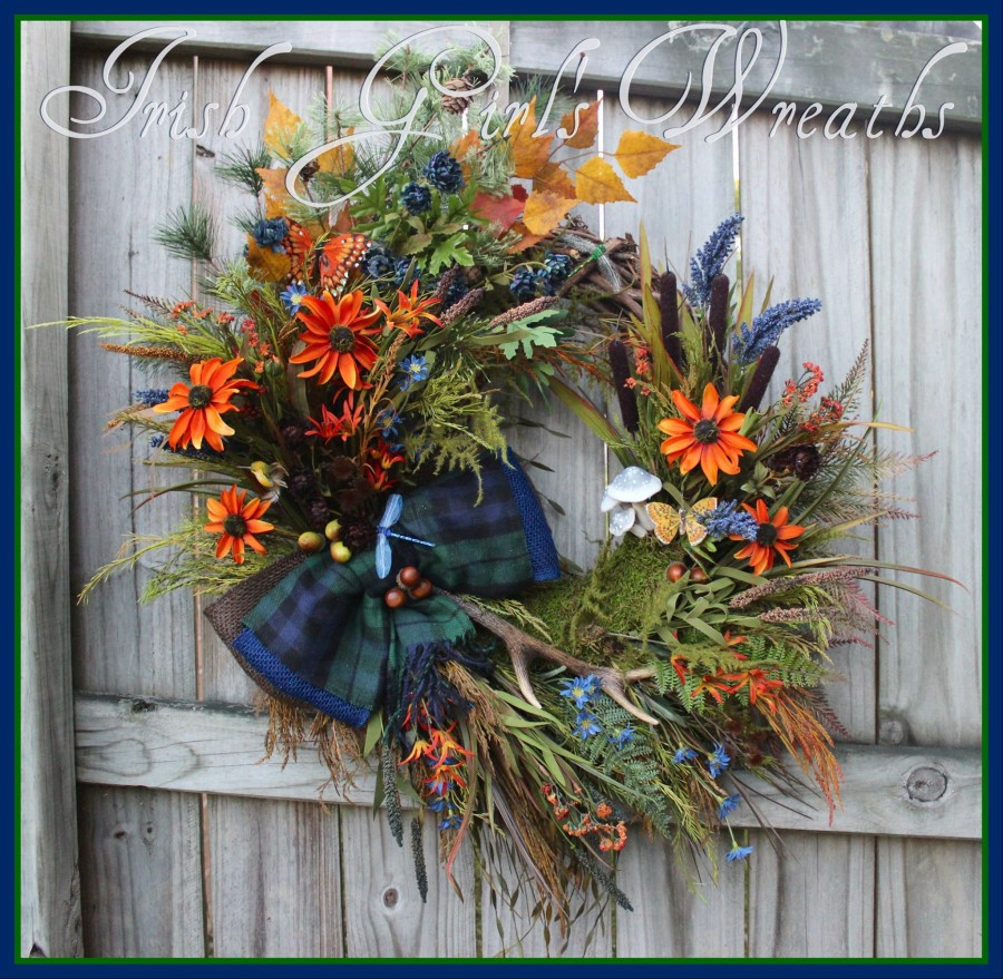 Custom Lake House Wreath for Carol