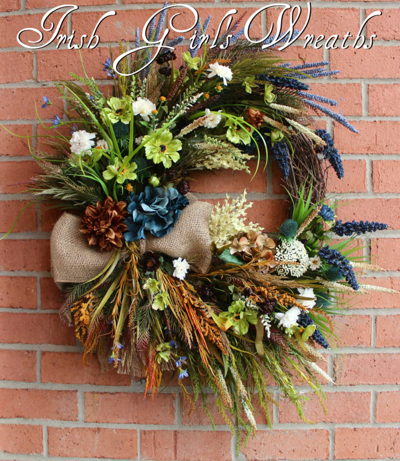 Rustic Donegal Ireland Coastal Wreath