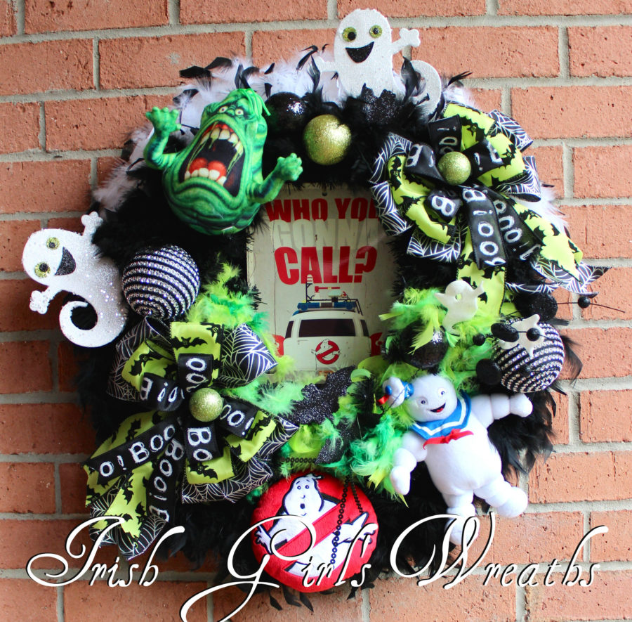 GhostBusters- Who You Gonna Call Wreath