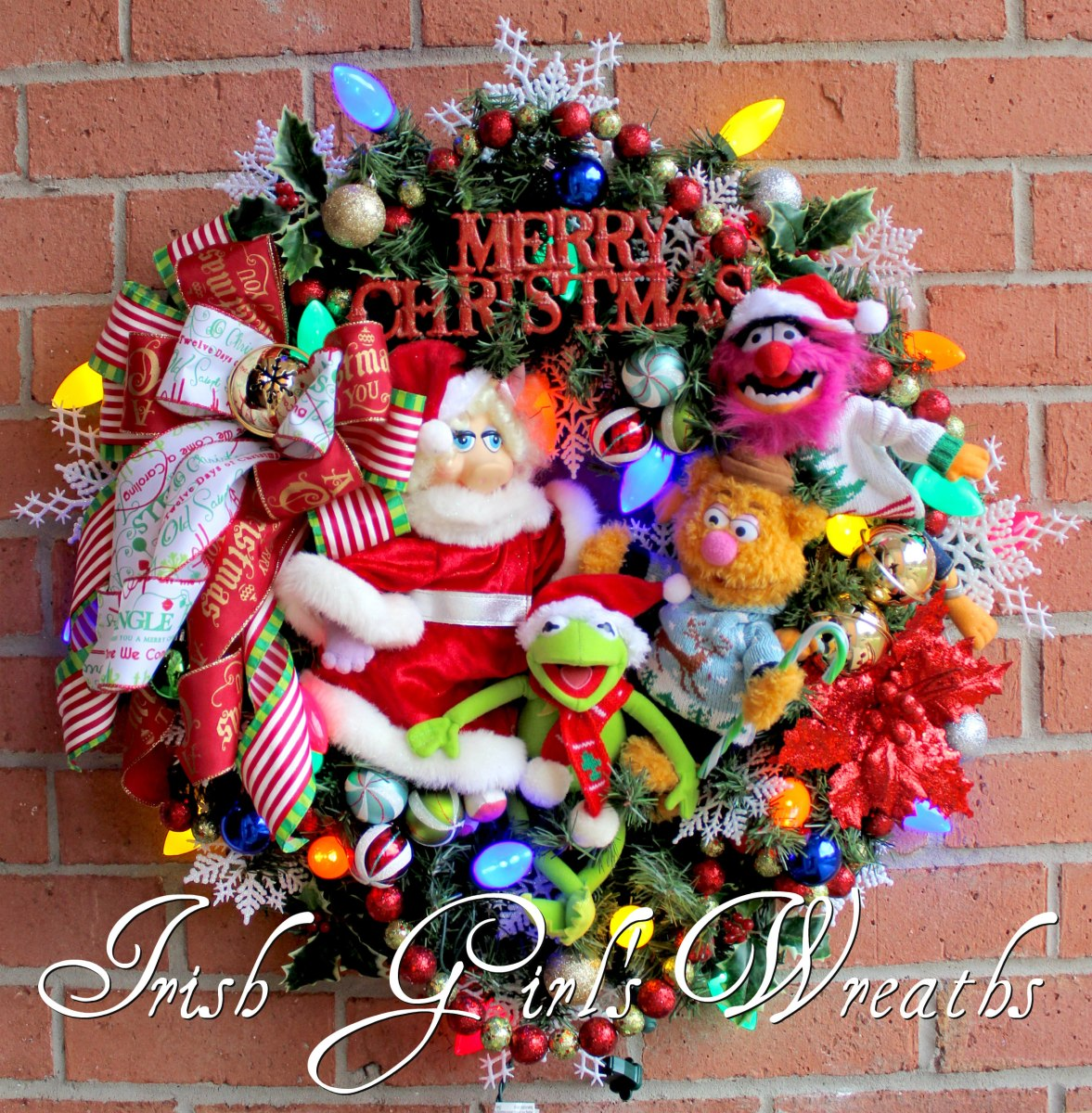 24 Inch Artificial Christmas Wreaths