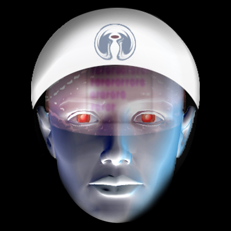 3D face modeled by Gary Crossey - Asheville