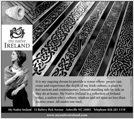 Asheville graphic design sample of print ad