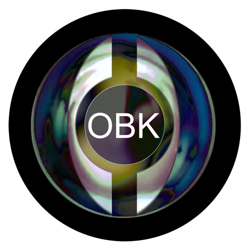 Logo Design for OBK by graphic design Gary Crossey