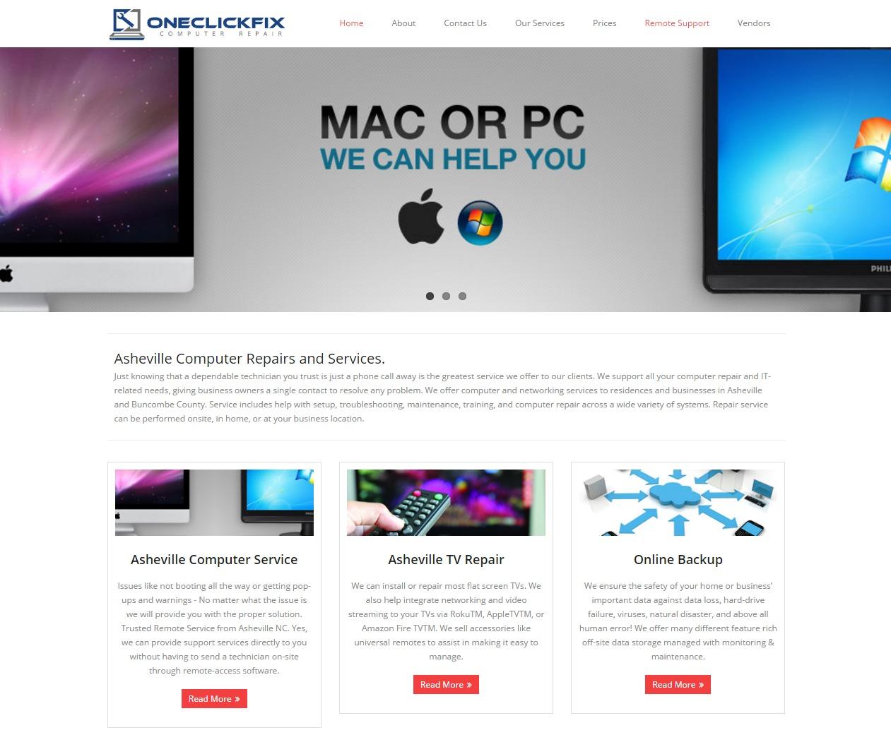 Asheville Website Design - Computer Repair