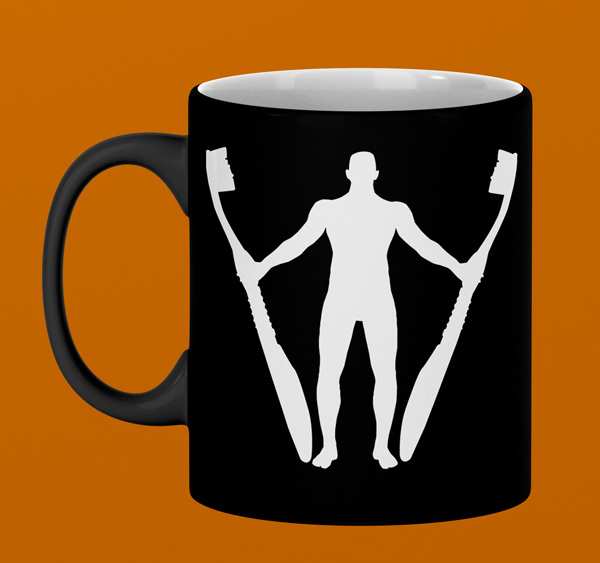 Graphic Design Sample Mug Mockup