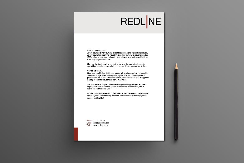 LETTERHEAD Redline
